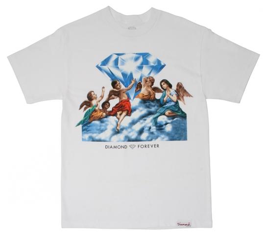 Diamond Supply Co. Men's T-Shirt - Forever (White)