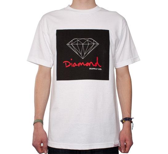Diamond Supply Co. OG Sign T-Shirt (White)