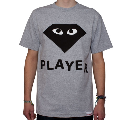 Diamond Supply Co. Player T-Shirt (Heather)