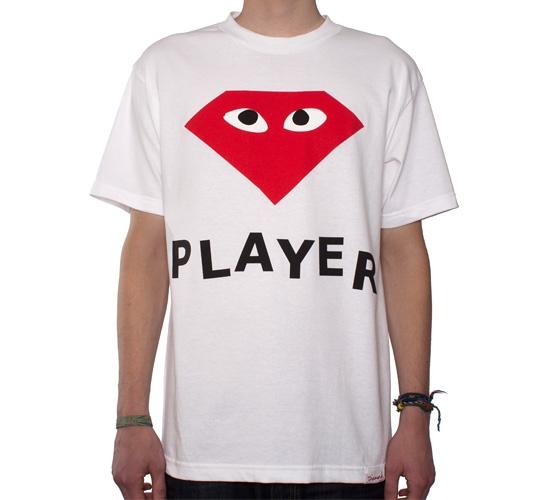 Diamond Supply Co. Player T-Shirt (White)