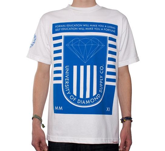 Diamond Supply Co. University 2011 T-Shirt (White)