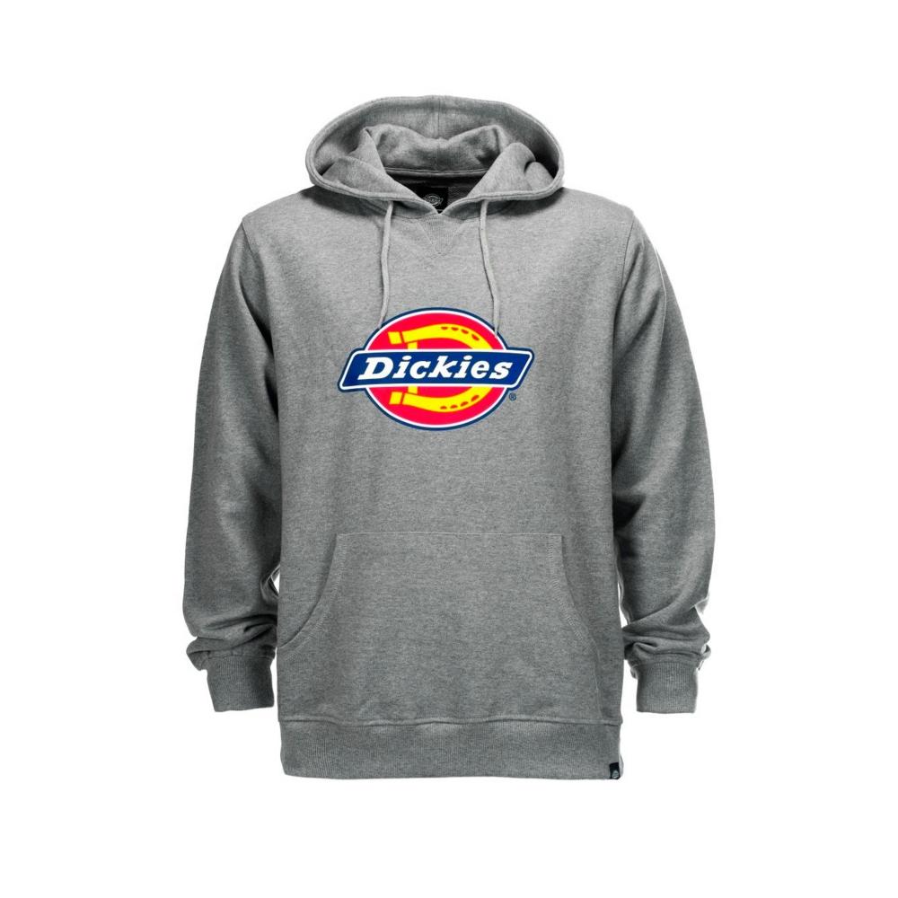 Dickies Nevada Pullover Hooded Sweatshirt (Grey Melange)