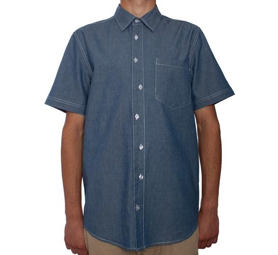 Dickies x Stussy Crazy Work Shirt (Blue)