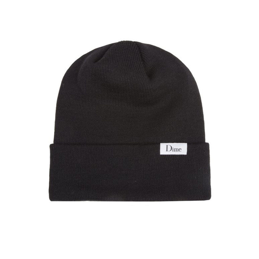 Dime Classic Wool Beanie (Black)