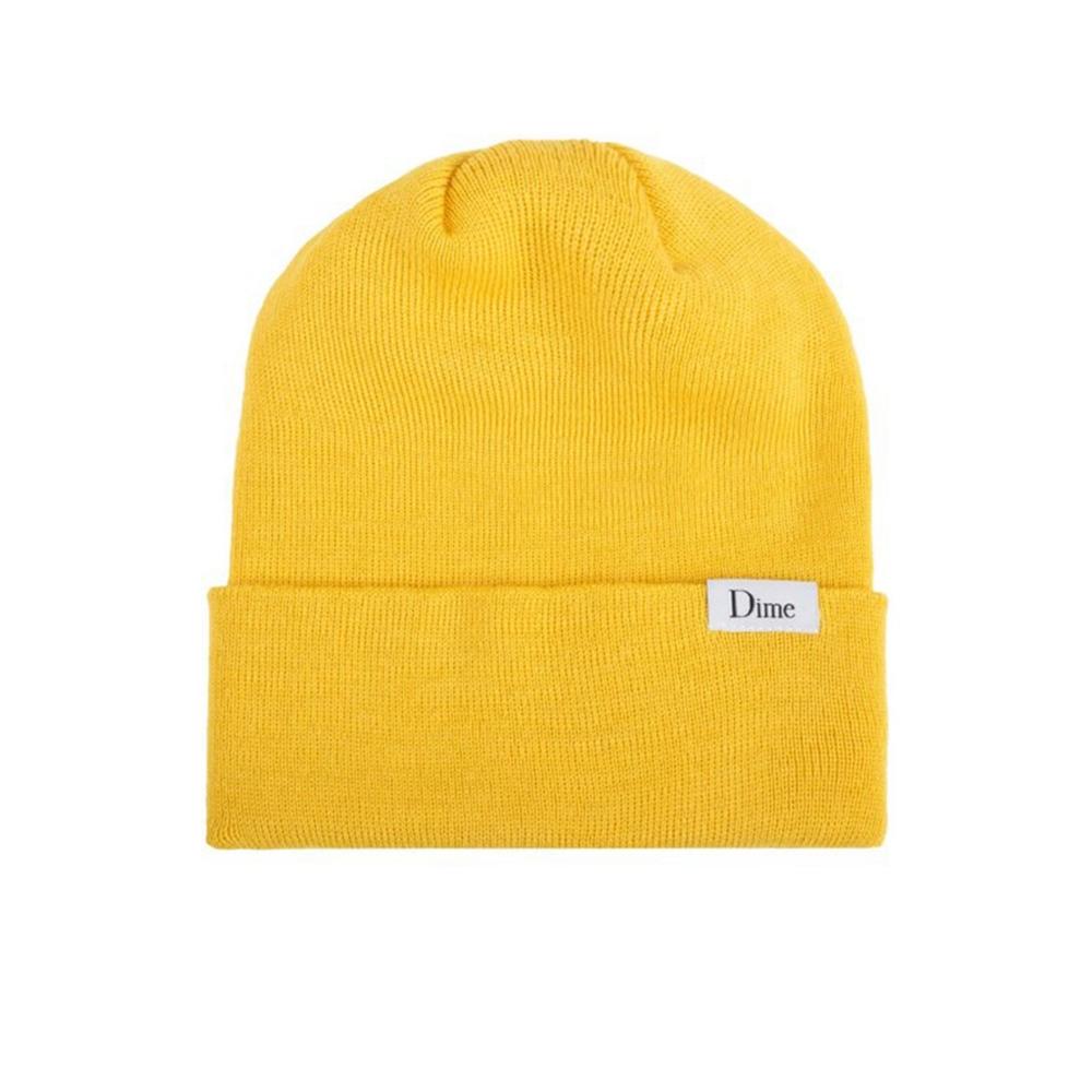 Dime Classic Wool Beanie (Yellow)