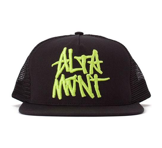 Altamont Dome 69 Trucker Cap (Lime)