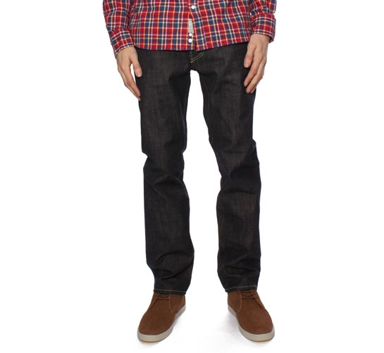 Edwin ED-77 Men's Jeans - Granite denim (Unwashed)