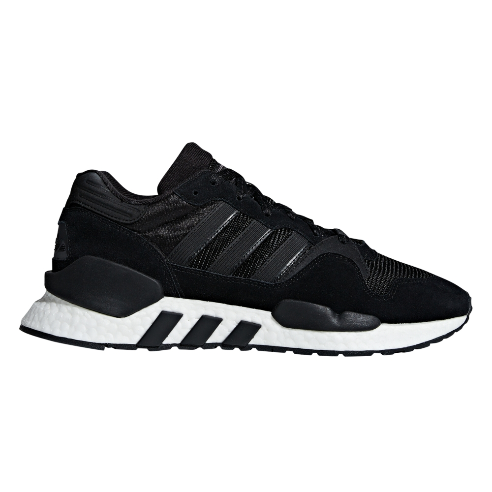 adidas Originals ZX930 x EQT 'Never Made Triple Black Pack' (Core Black/Utility Black/Solar Red)