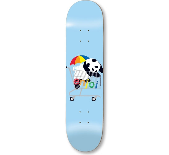 "Enjoi Skateboard Deck - 7.75"" Team (Best Sellers)"