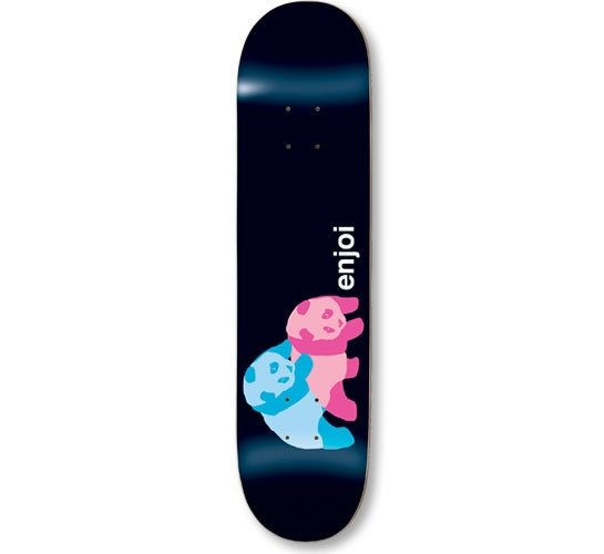 "Enjoi Skateboard Deck - 7.75"" Team (Brother & Sister)"