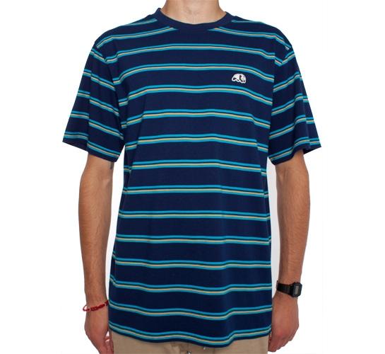 Enjoi Bacon Strips Custom T-Shirt (Navy)
