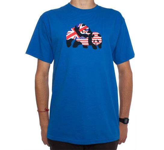 Enjoi International Relations T-Shirt (Royal)