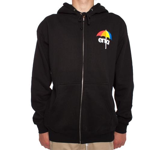 Enjoi Little Umbrella Zip Hood (Black)