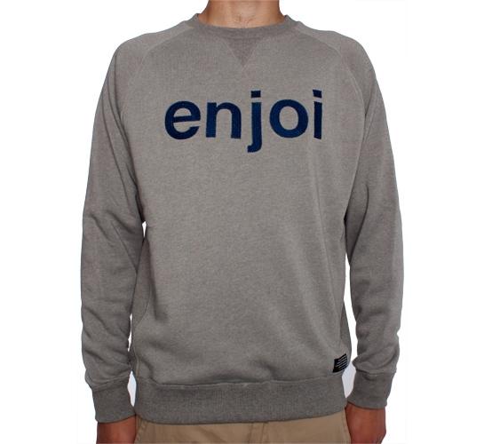 Enjoi No Joke Custom Crew (Grey Heather)