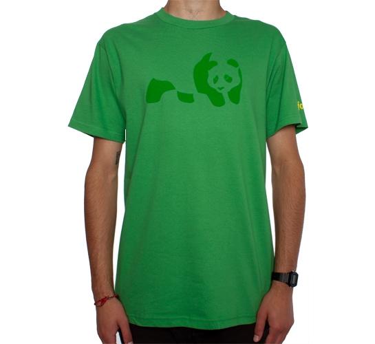 Enjoi Panda T-Shirt (Grass)