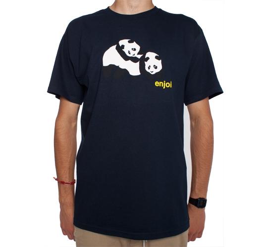 Enjoi Piggyback Pandas T-Shirt (Navy)