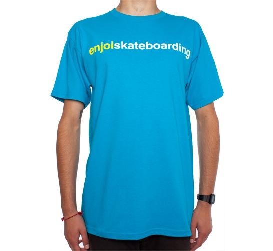 Enjoi Enjoiskateboarding T-Shirt (Turquoise)