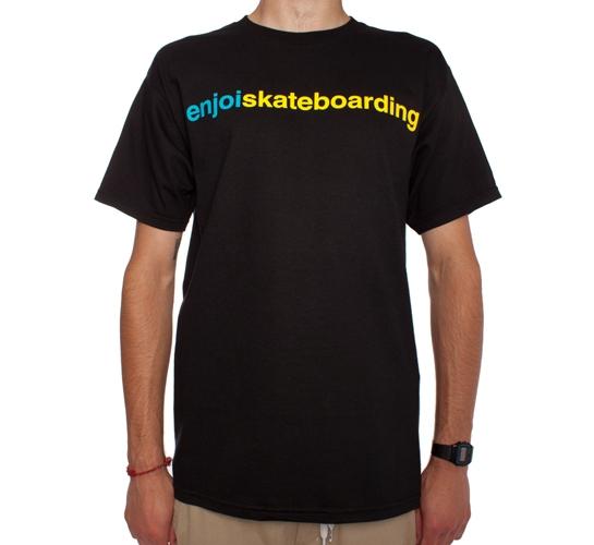 Enjoi Enjoiskateboarding T-Shirt (Black)