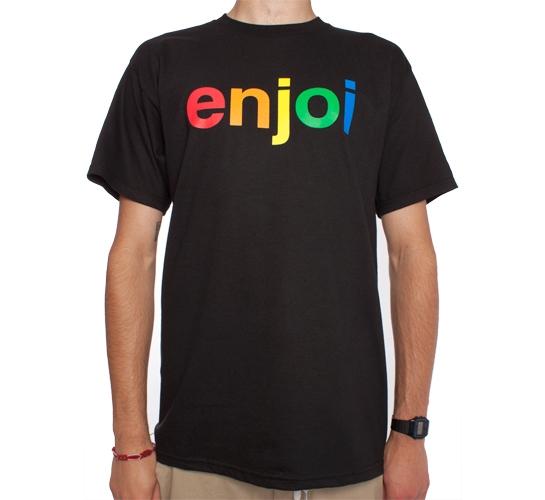 Enjoi Spectrum T-Shirt (Black)