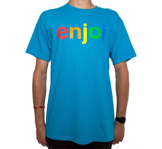 Enjoi Spectrum T-Shirt (Turquoise)