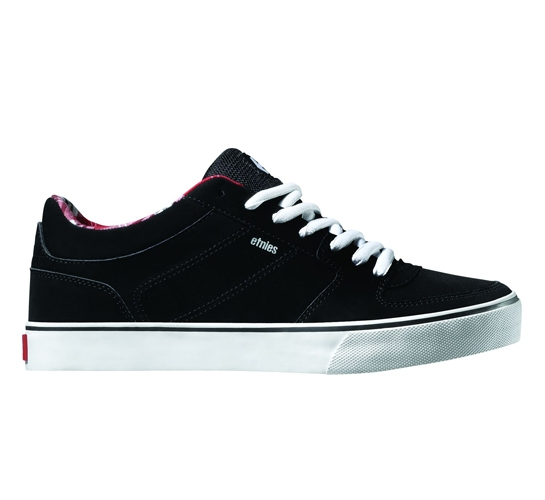 Etnies Recognition Skate Shoes - Faction (Black / Red)