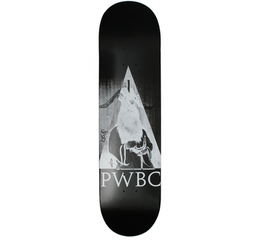 "Palace Skateboard Deck - 8.1"" Team (Magik Black)"