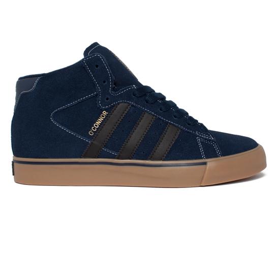 adidas Skateboarding OConnor Campus Vulc Hi (Collegiate Navy/Black/Metallic Gold)