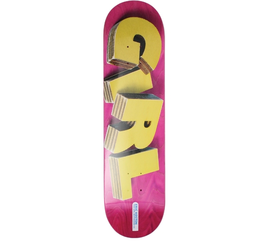 "Girl Skateboard Deck - 7.75"" Koston (Wooden It Be Nice)"