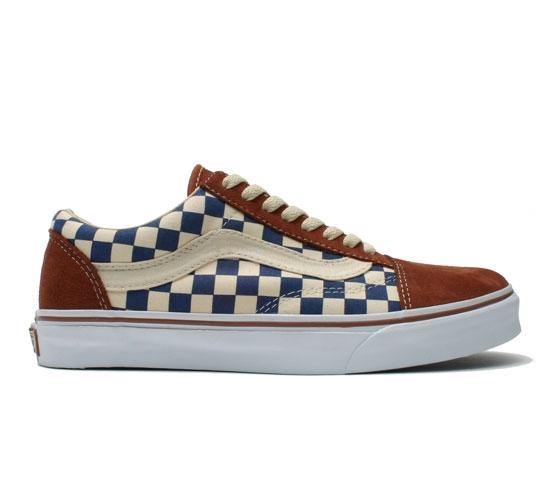 Vans Skate Shoes - Old Skool (Navy/Coconut Shell)