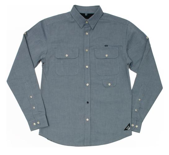 10.Deep Men's Shirt - Supply & Demand (Light Blue)