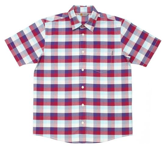 Carhartt Men's Shirt - S/S Folsom Shirt (Frosted Viola)