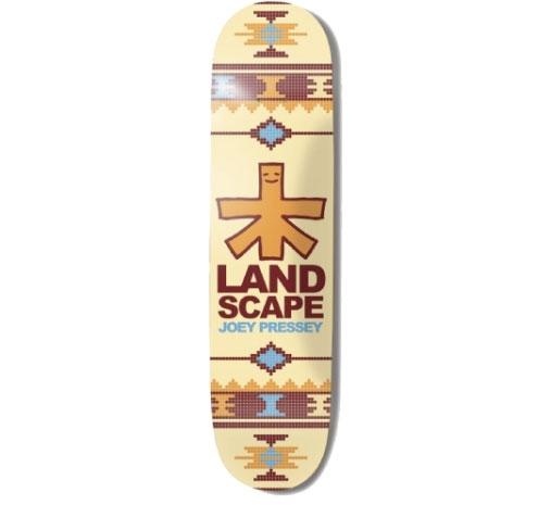 "Landscape Skateboard Deck - 8.1"" Joey (Moroccan Rug)"