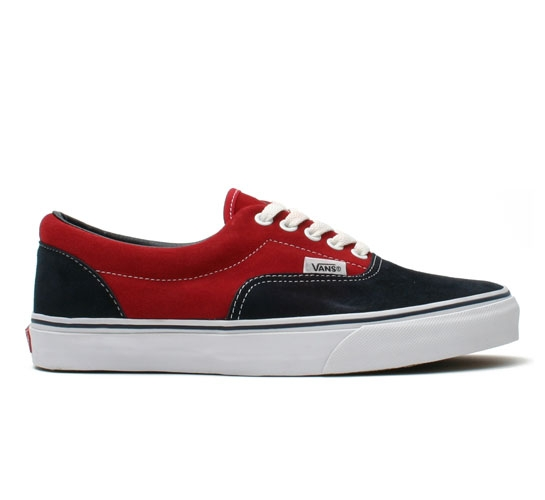 Vans Skate Shoes - Era (Navy/Red)