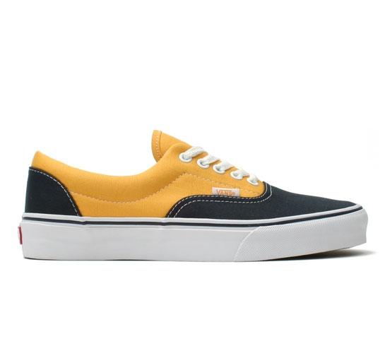 Vans Skate Shoes - Era (Navy/Gold Fusion)