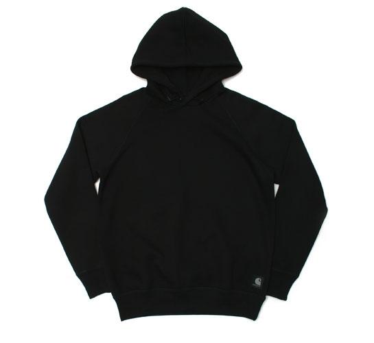 Carhartt Men's Sweatshirt - Hooded Zip Pocket (Black)