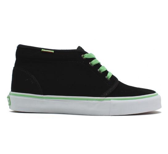 Vans Chukka Pro Skate Shoes (Black/Viper Green)