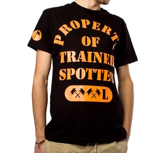 Trainerspotter Athletic Dept T-Shirt (Black)