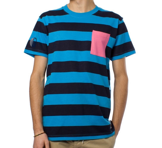 Trainerspotter Breton T-Shirt (Blue)