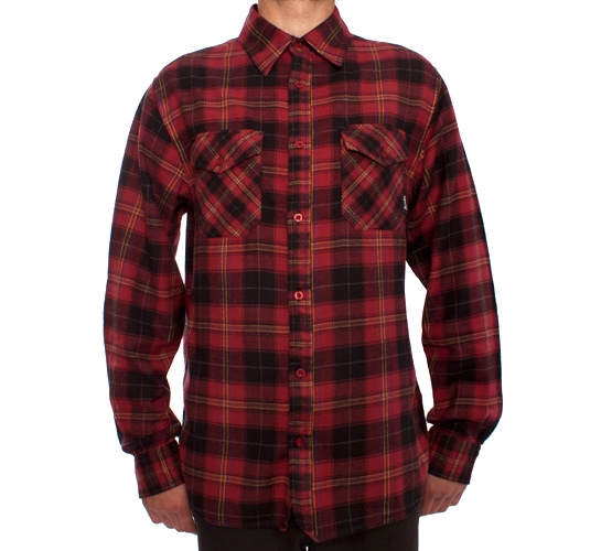 Fourstar Fleetwood Shirt (Red)