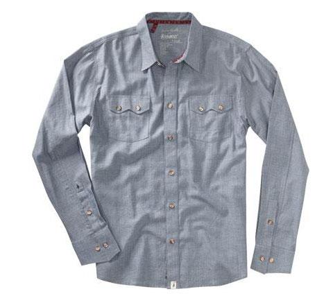 Altamont Men's Shirt - Frontier A. Reynolds (Navy)