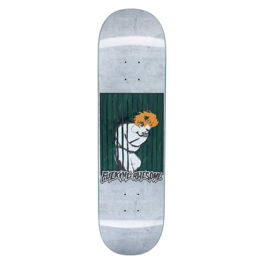 "Fucking Awesome Aidan Psych Ward Skateboard Deck 8.38"""