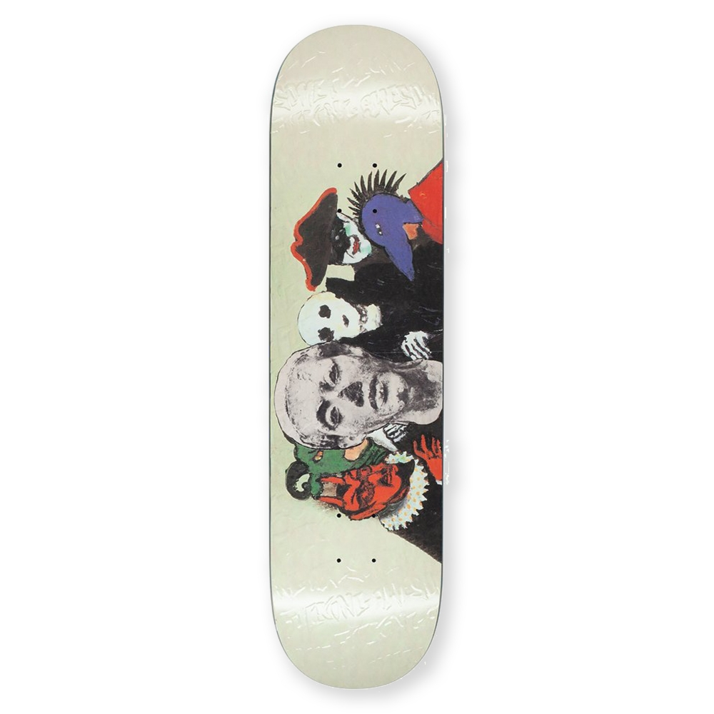 Fucking Awesome Bad Influence Skateboard Deck 8.0""