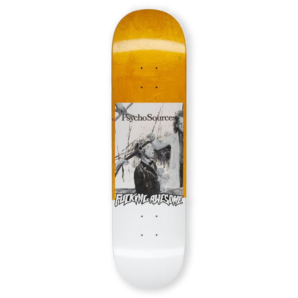 """Fucking Awesome Dill Psycho Sources Skateboard Deck 8.18"""""""