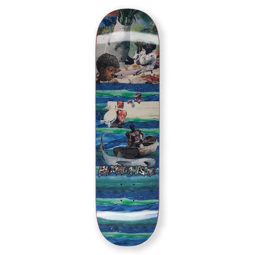 "Fucking Awesome Sage Ocean Skateboard Deck 8.25"""