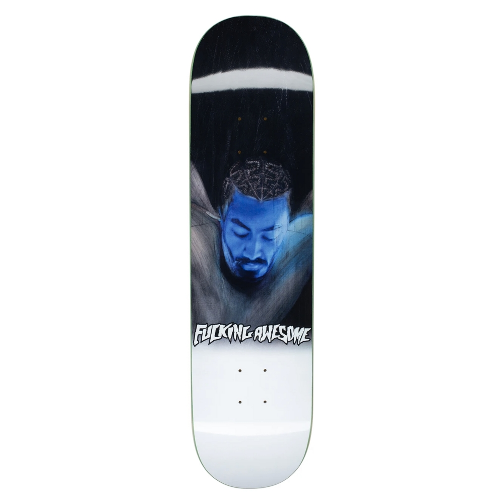 "Fucking Awesome Sage Post Panic Skateboard Deck 8.0"""