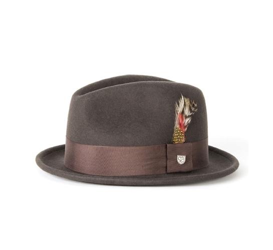 Brixton Hat - Gain (Moss Crushable Felt)