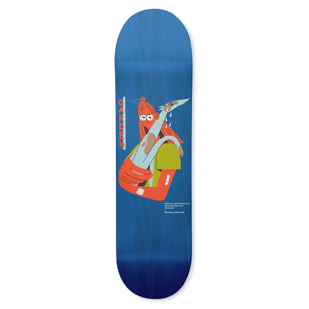 "Garden Skateboards Limited Alan Skateboard Deck 8.5"""