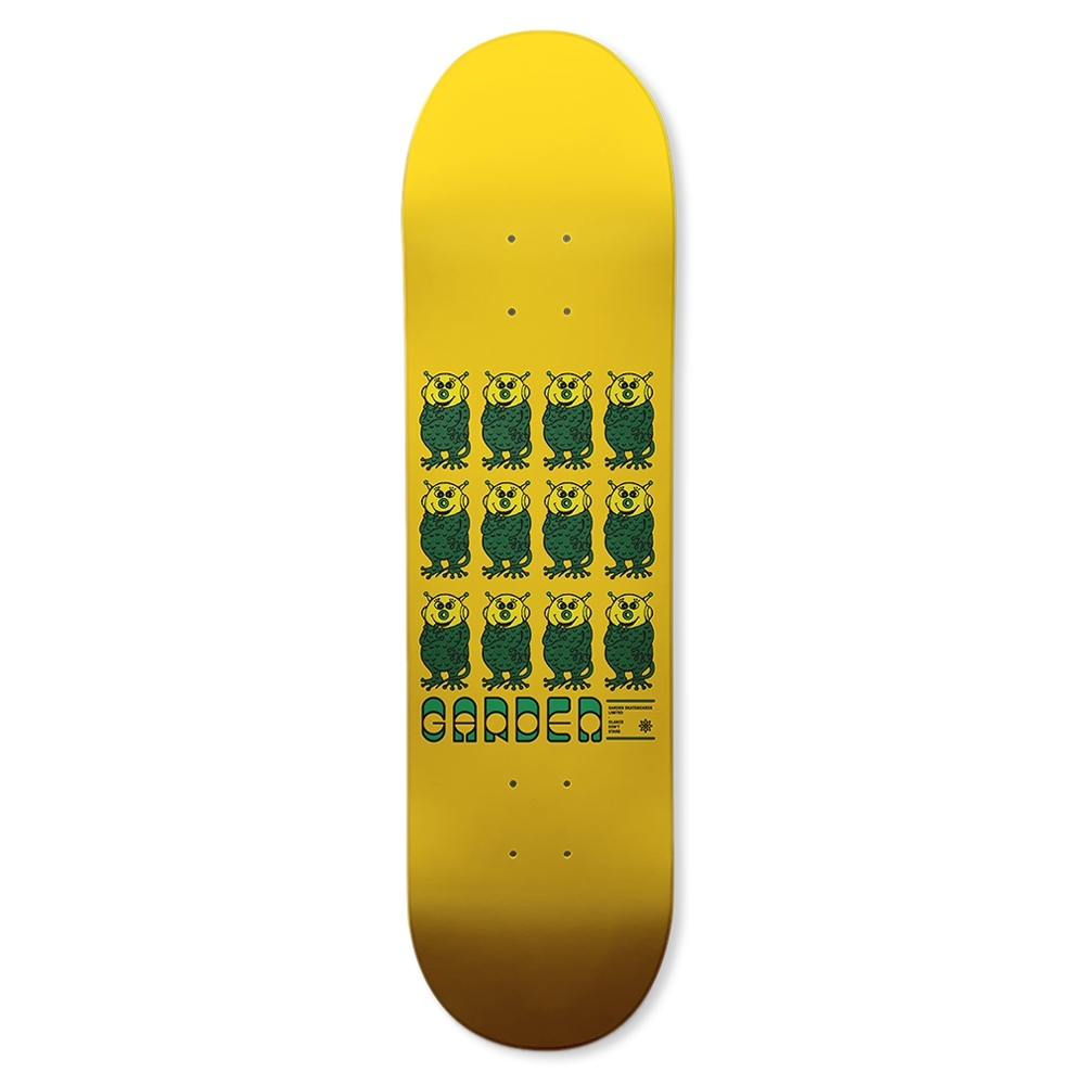 "Garden Skateboards Limited Linda Skateboard Deck 8.25"""