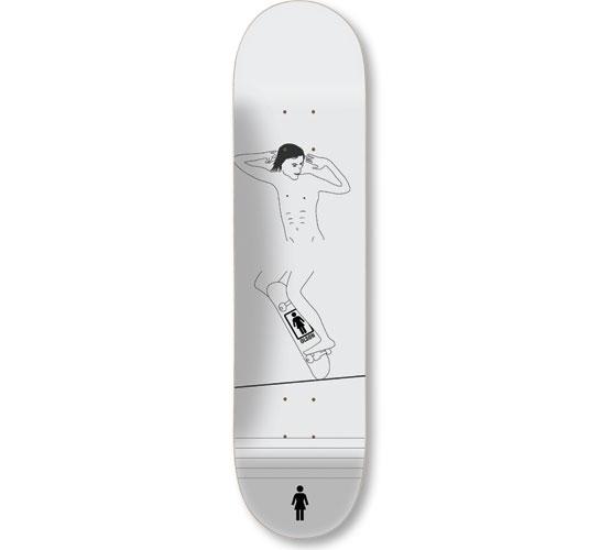 """Girl Skateboard Deck - 8"""" Olson (Cock-A-Doodle)"""