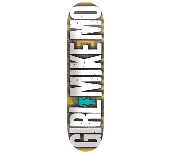 "Girl Skateboard Deck - 7.8125"" Mikemo (Big Girl)"